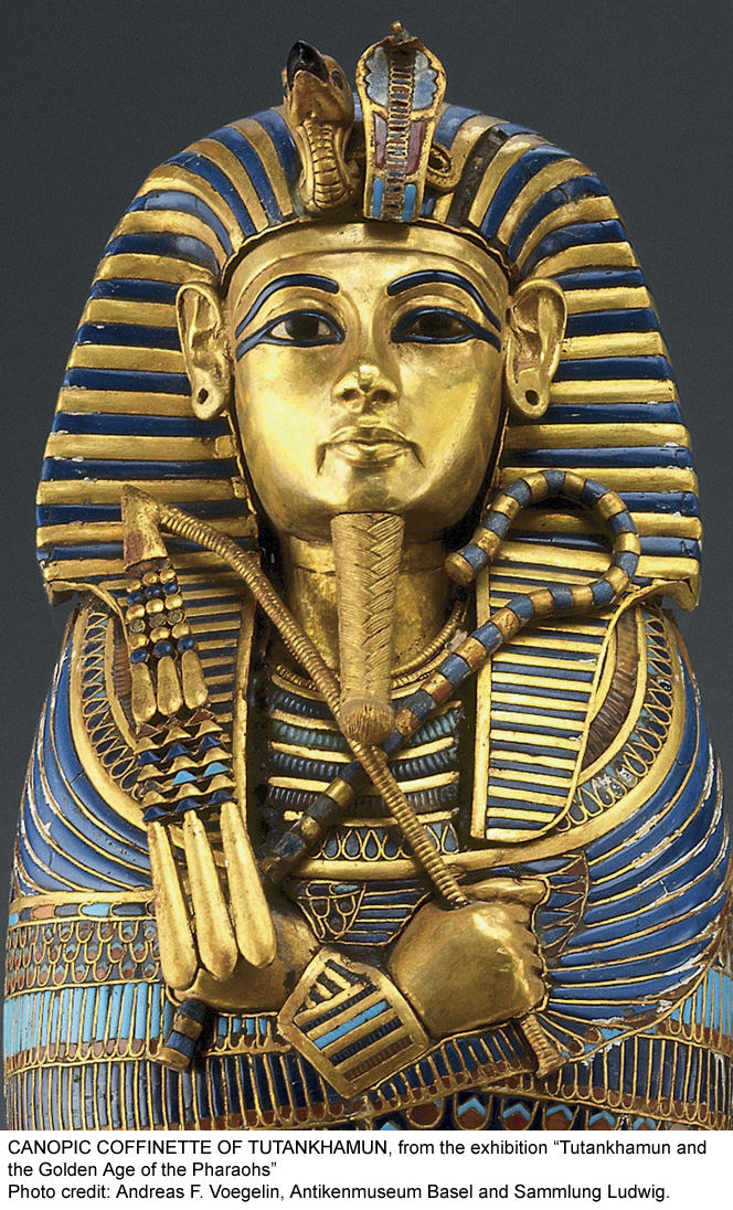Tutankhamun Coffin © Andreas F. Voegelin, Antikenmuseum Basel and