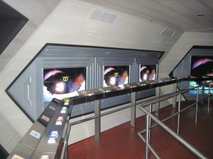 Space Mountain - no games for you!
