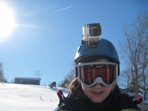 Me, sporting the GoPro Hero 3 look. Pretty awesome, huh?
