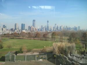Enjoy the view of NYC from the top floor. Copyright Deborah Abrams Kaplan