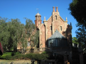 Disney World's (Magic Kingdom's) Haunted Mansion. Copyright Deborah Abrams Kaplan