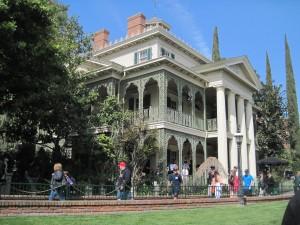 Disneyland's Haunted Mansion. Copyright Deborah Abrams Kaplan