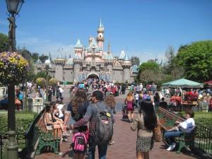 Disneyland's castle. Copyright Deborah Abrams Kaplan