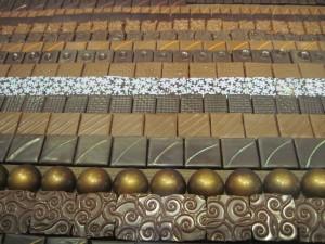 Ahhh the chocolates...Copyright Deborah Abrams Kaplan