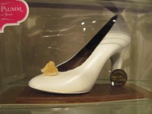 For those with a shoe fetish...yep, you can eat it. Copyright Deborah Abrams Kaplan