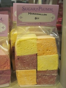 I'm not a big marshmallow fan, but these were pretty. Can't say I'd eat them. Copyright Deborah Abrams Kaplan