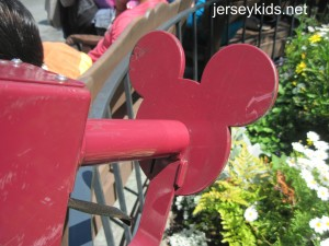 This Mickey was on some of the food carts.
