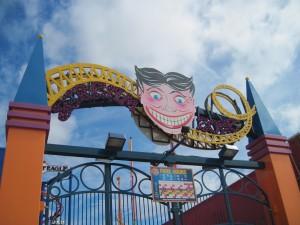 Their Luna Park/Scream Park icon is creepy! Copyright Deborah Abrams Kaplan