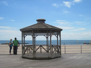 The boardwalk held up in Sandy. Copyright Deborah Abrams Kaplan