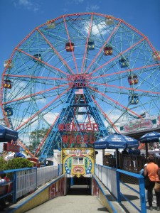 The Wonder Wheel. Copyright Deborah Abrams Kaplan