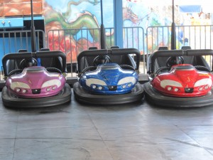 Loved the bumper cars. Copyright Deborah Abrams Kaplan