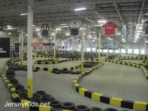 Overview of the Pole Position Raceway in Jersey City. Copyright Deborah Abrams Kaplan