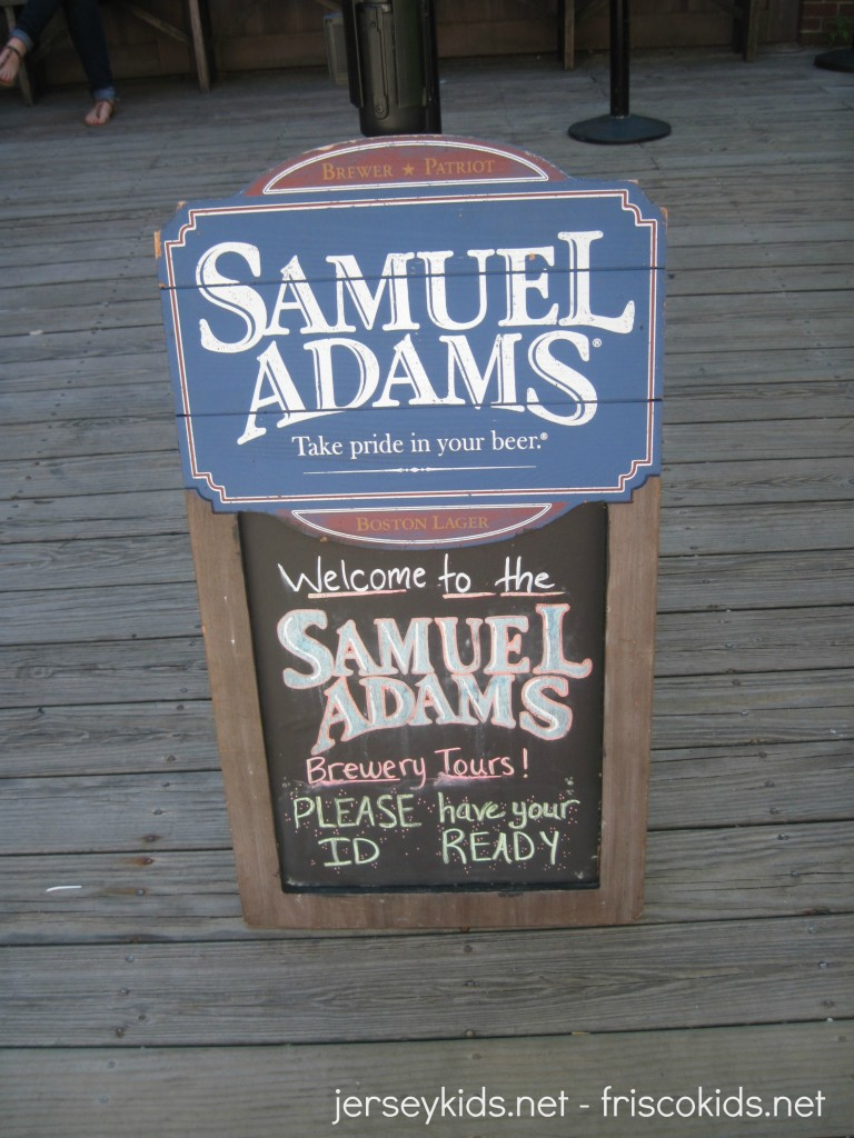 Sam Adams Tour Boston Jamaica Plain