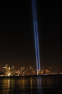 9/11 - remembering. Photo courtesy of KConnors.