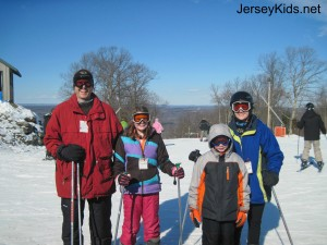 Skiing at Shawnee in Pennsylvania