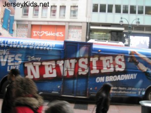 newsies bus