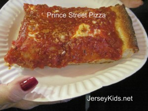 The big slice. Yummy!