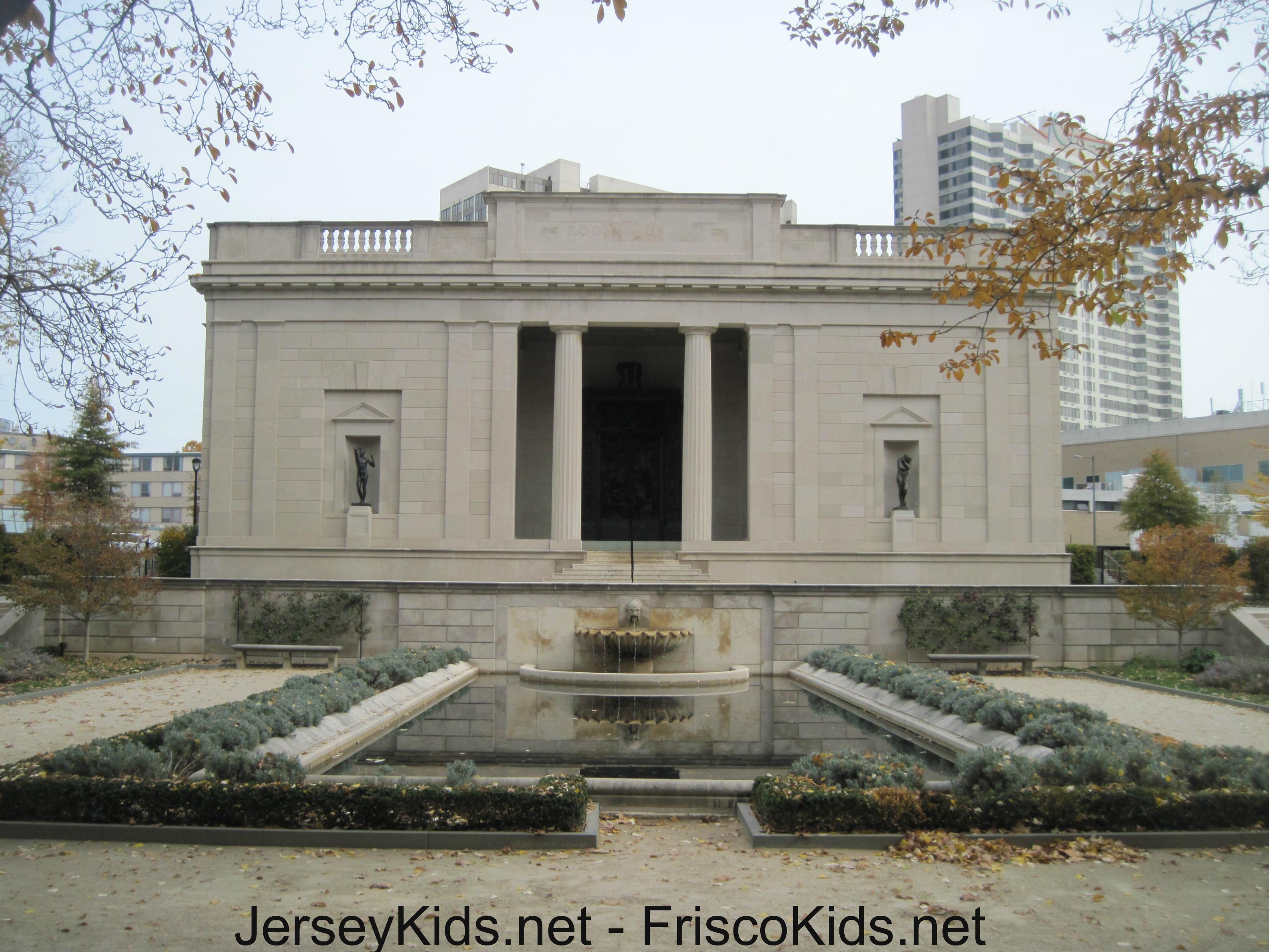 Philadelphia Rodin Museum With Kids Jersey Kids