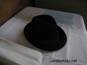 Instead of wearing a yarmulke when called up for an aliyah, men change into these street hats instead.