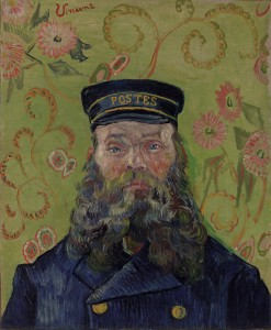 Vincent van Gogh, Dutch, 1853–1890. The Postman (Joseph-Étienne Roulin), 1889. Photograph © 2012 The Barnes Foundation.