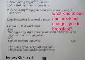 Want breakfast? You'll have to pay for it at this B&B