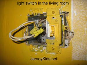 living room light switch