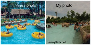 The Lazy river at Hurricane Harbor NJ