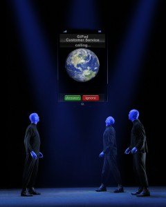 blue man group wipad