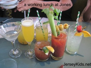 Tasting cocktails at Jones
