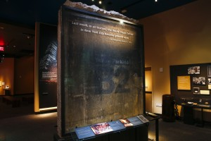 B2 Slab form 1993 WTC bombing, photo by Jin Lee, courtesy of the 9/11 Memorial Museum