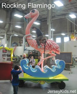 Someone will ride on this Rocking Flamingo