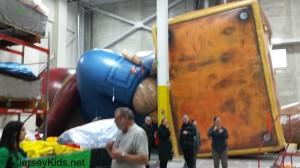 Paddington fully inflated