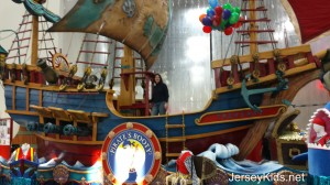 This is the closest I'll ever get to riding on a Macy's Thanksgiving Day parade float. Can you see me on the ship?