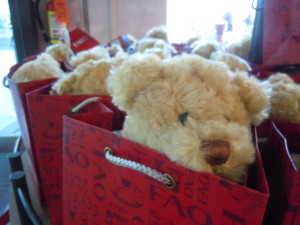 The FAO Schwarz bear