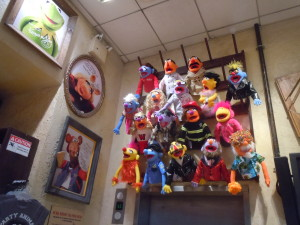 Puppet making workshop at FAO Schwarz