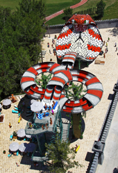 You can now ride doubles down the King Cobra. Photo courtesy of Six Flags.