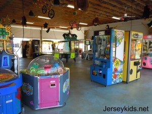 Diggerland's arcade.