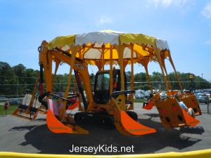 This Diggerland ride was a combination of a carousel and a flying ride.