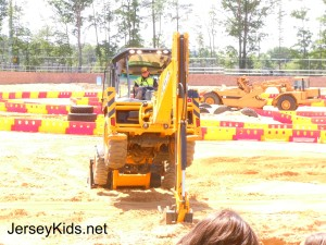 Diggerland had a stunt show after lunch.