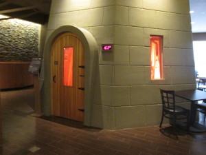 The hottest room at Island Spa. Photo copyright Deborah Abrams Kaplan