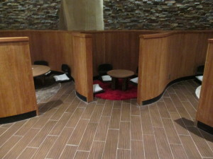 Other seating areas at the spa. They have some games you can play and free Wi-Fi. Photo copyright Deborah Abrams Kaplan