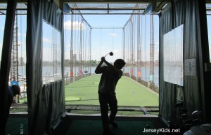 Try out the high tech four story driving range at Chelsea Piers.