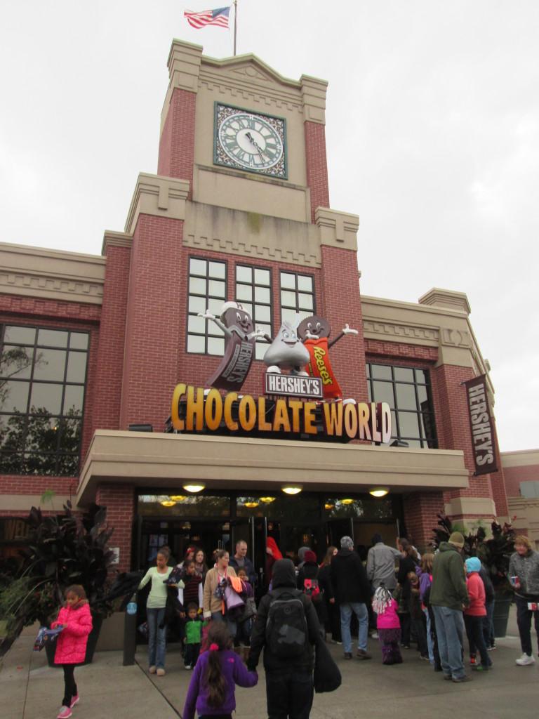 Chocolate World. Copyright Deborah Abrams Kaplan