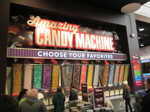 A fun machine to use, get your own selection of candy. Copyright Deborah Abrams Kaplan