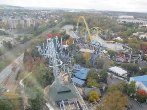 The view from the Kissing Tower. Copyright Deborah Abrams Kaplan