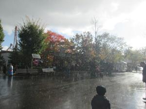 Hail storm at Hersheypark. Copyright Deborah Abrams Kaplan