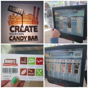 You choose your own chocolate base bar and toppings, using your ticket's bar code for tracking. Copyright Deborah Abrams Kaplan