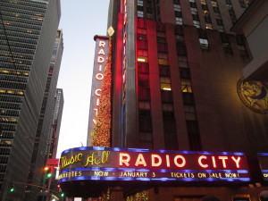 Radio City Music Hall Rockettes Christmas Spectacular. Copyright Deborah Abrams Kaplan