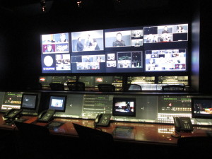 This is what the control room looks like. Copyright Deborah Abrams Kaplan