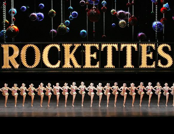 The Rockettes kick line. Photo courtesy of the Rockettes.